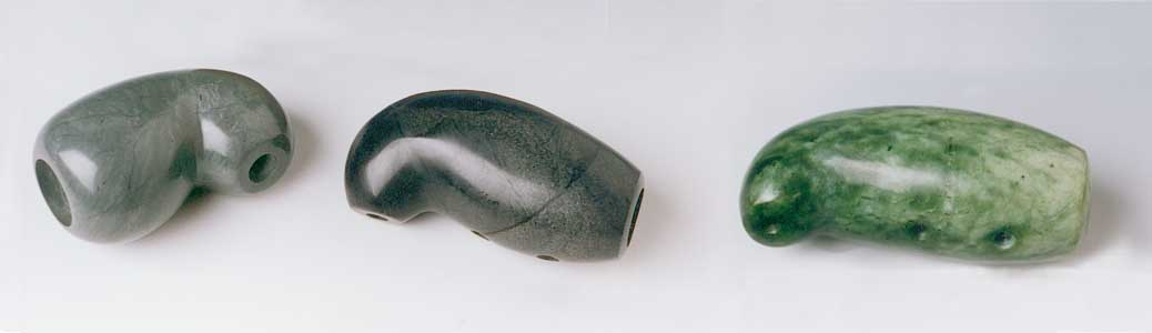 Stone nose flutes
