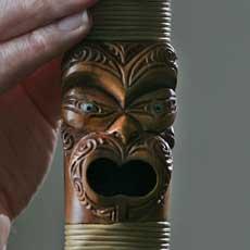 Flute face